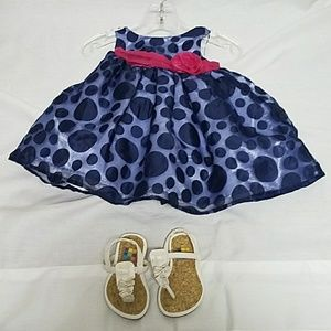 6m formal baby girl outfit